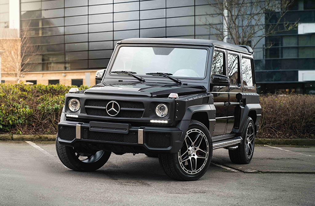 Now You Can Get Your G Class Modded By Kahn Design