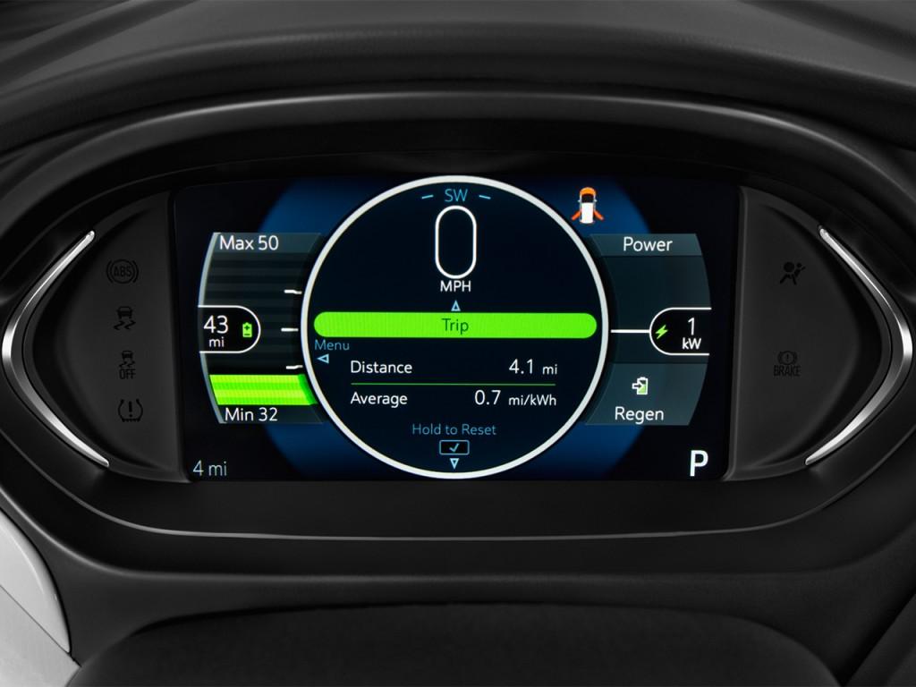 Dodge Demon Dashboard >> Image: 2017 Chevrolet Bolt EV 5dr HB LT Instrument Cluster, size: 1024 x 768, type: gif, posted ...