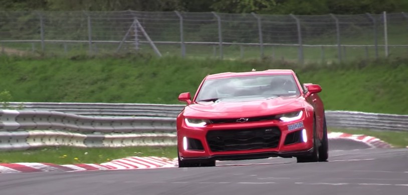 2017 Chevy Camaro ZL1 put through its paces at the 'Ring