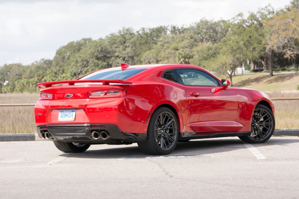 Car New 2017 Chevrolet Camaro Zl1 First Drive Review Too