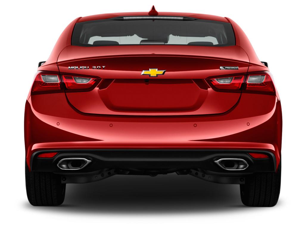 Image: 2017 Chevrolet Malibu 4-door Sedan Premier w/2LZ Rear Exterior ...