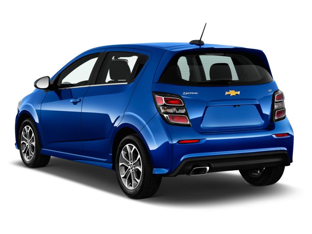 Image 2017 Chevrolet Sonic 5dr Hb Auto Lt Angular Rear