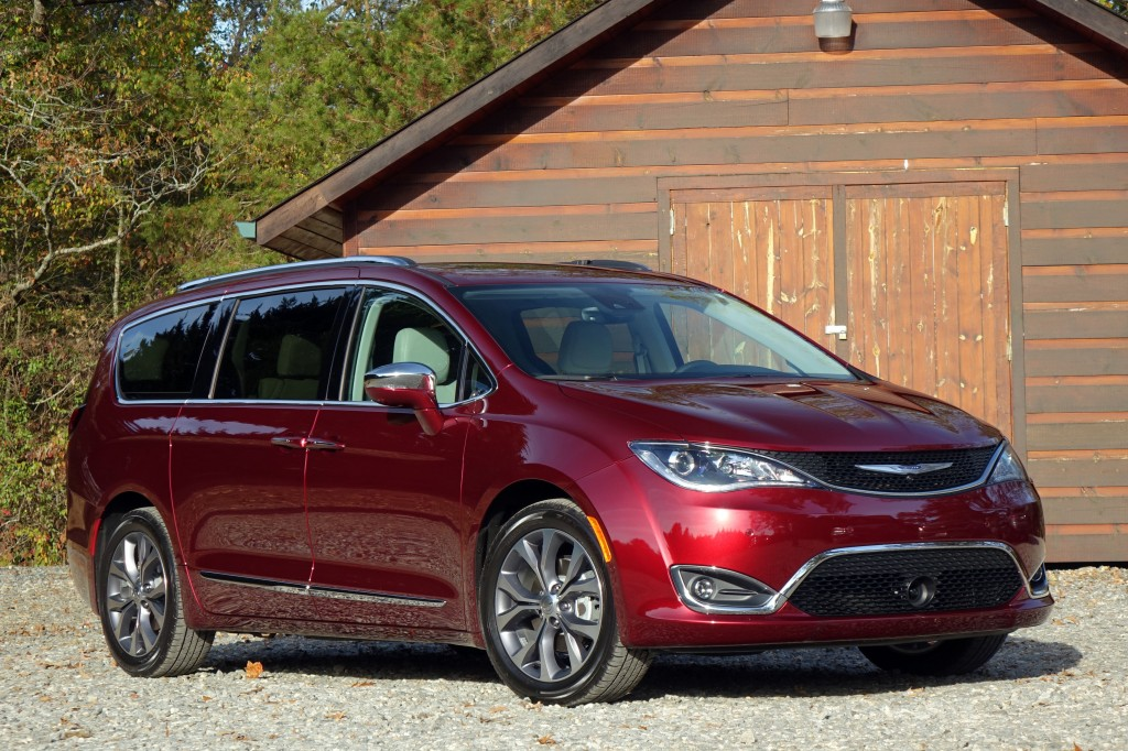 Chrysler Pacifica gets into Touring Plus mode