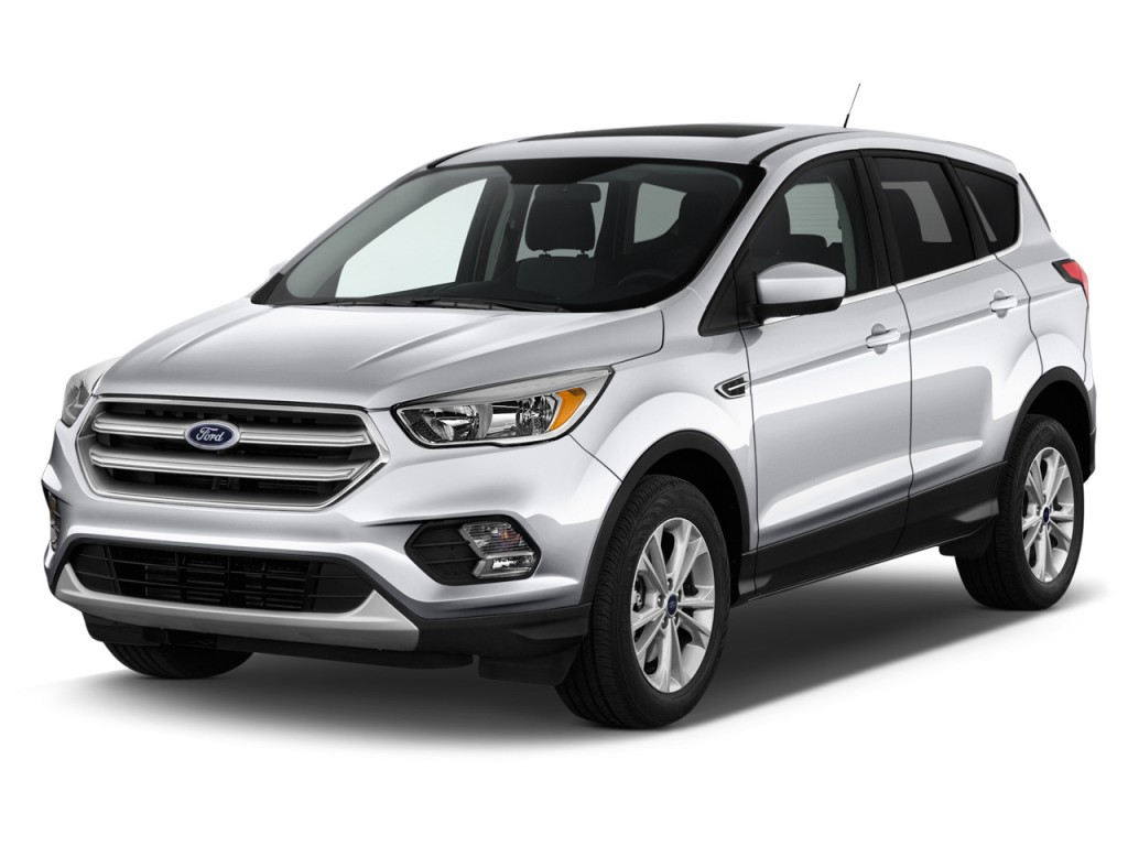 Image 2017 Ford Escape Se 4wd Angular Front Exterior View