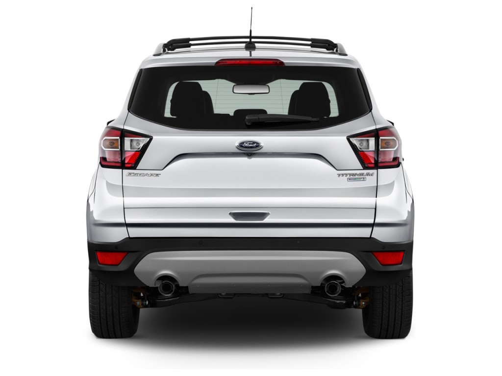 Ford Transit Cutaway >> Image: 2017 Ford Escape Titanium FWD Rear Exterior View, size: 1024 x 768, type: gif, posted on ...