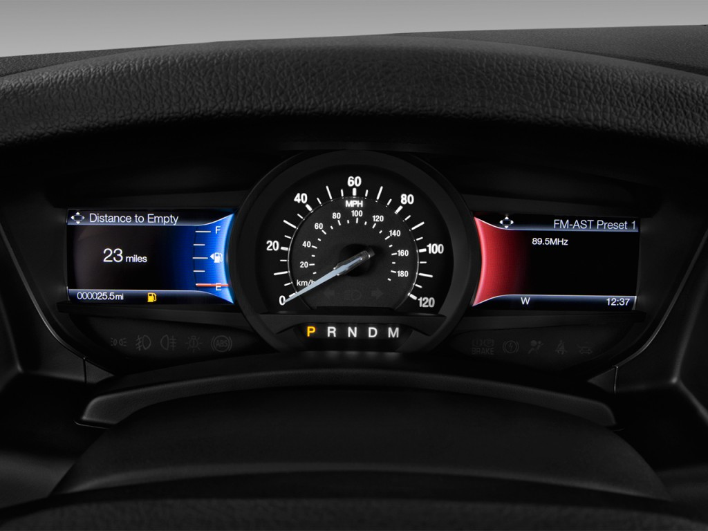 Image: 2017 Ford Expedition Limited 4x2 Instrument Cluster ...