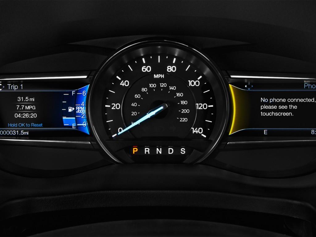 Image 2017 Ford Explorer Sport 4wd Instrument Cluster