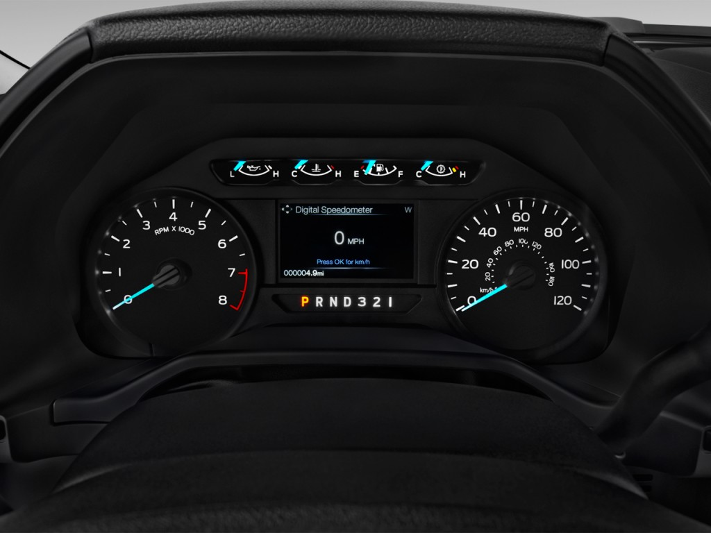 Image 2017 Ford F 150 Xl 2wd Reg Cab 6 5 Box Instrument Cluster Size 1024 X 768 Type Gif