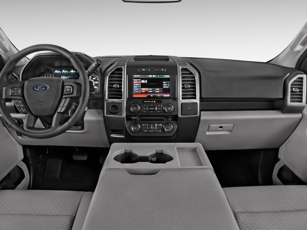 Image 2017 Ford F 150 Xlt 2wd Supercab 6 5 Box Dashboard Size 1024 X 768 Type Gif Posted