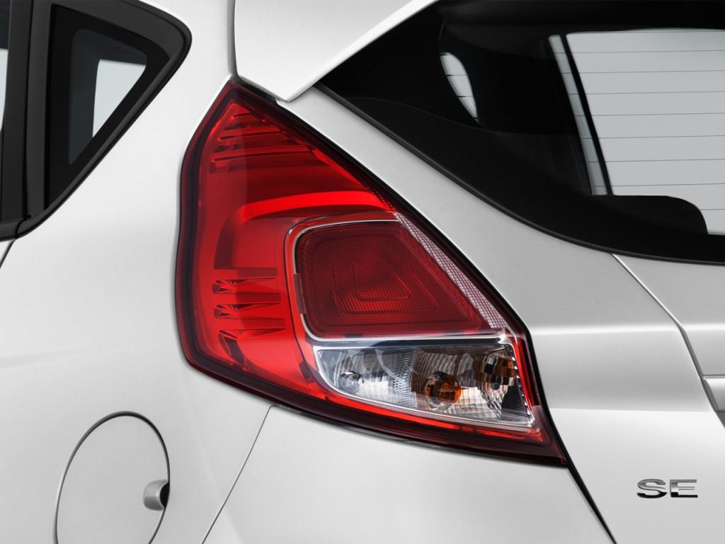 Image 2017 Ford Fiesta Se Hatch Tail Light Size 1024 X