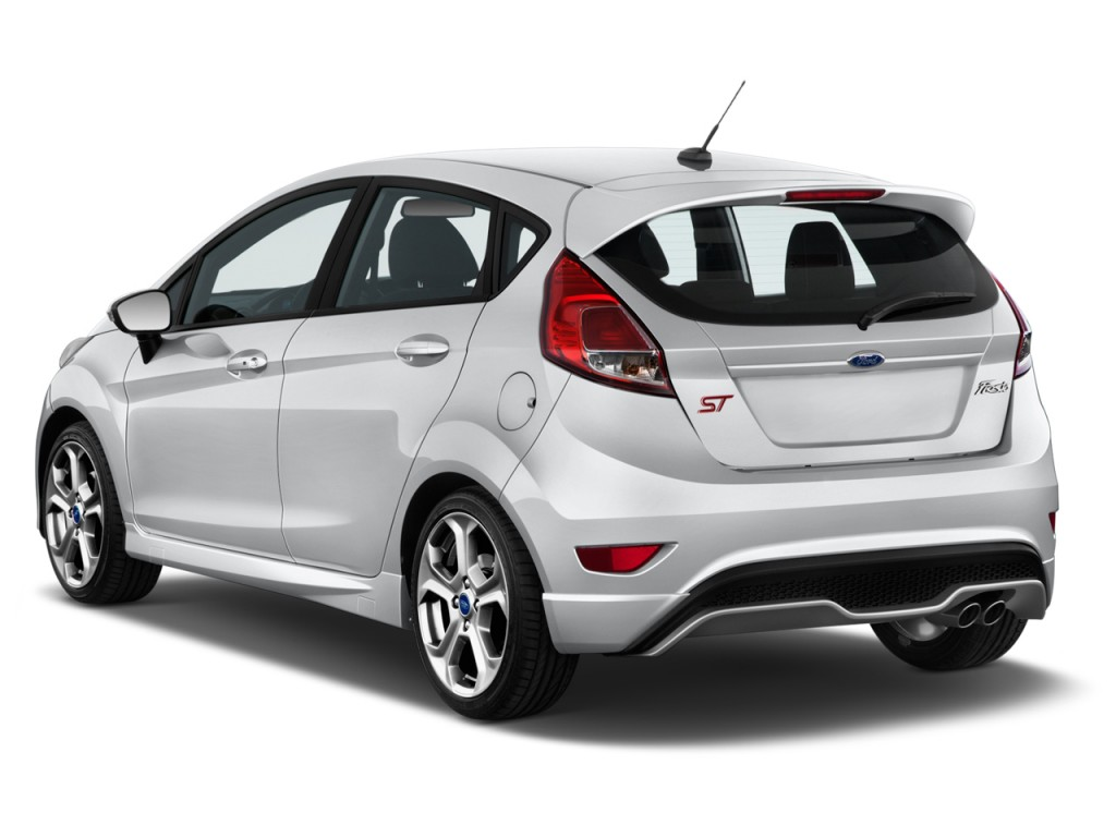 Image  2017 Ford Fiesta St Hatch Angular Rear Exterior View  Size  1024 X 768  Type  Gif  Posted