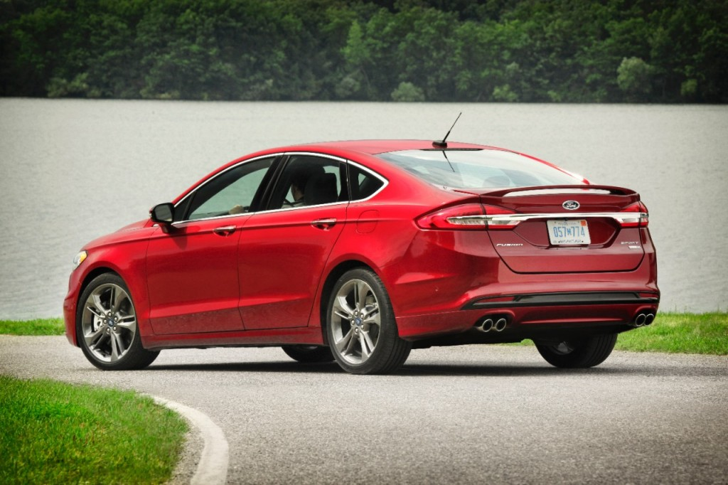 Image 2017 Ford Fusion Sport Size 1024 X 682 Type Gif Posted On September 7 2016 7 59