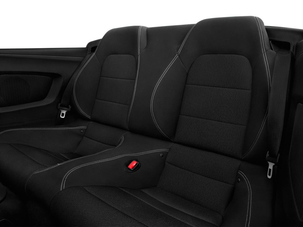 Image 2017 Ford Mustang V6 Convertible Rear Seats Size