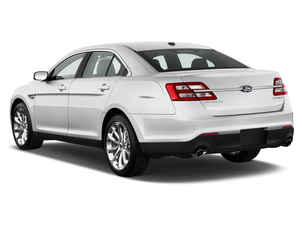 Image: 2017 Ford Taurus Limited FWD Angular Rear Exterior ...