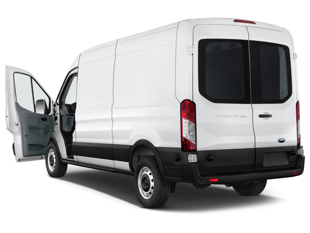 "Image: 2017 Ford Transit Van T-250 148"" Med Rf 9000 GVWR ..."