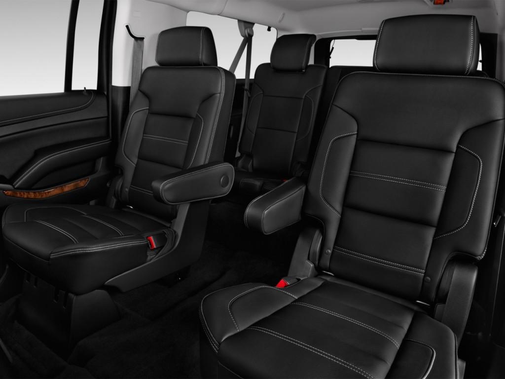 image 2017 gmc yukon xl 2wd 4 door denali rear seats. Black Bedroom Furniture Sets. Home Design Ideas