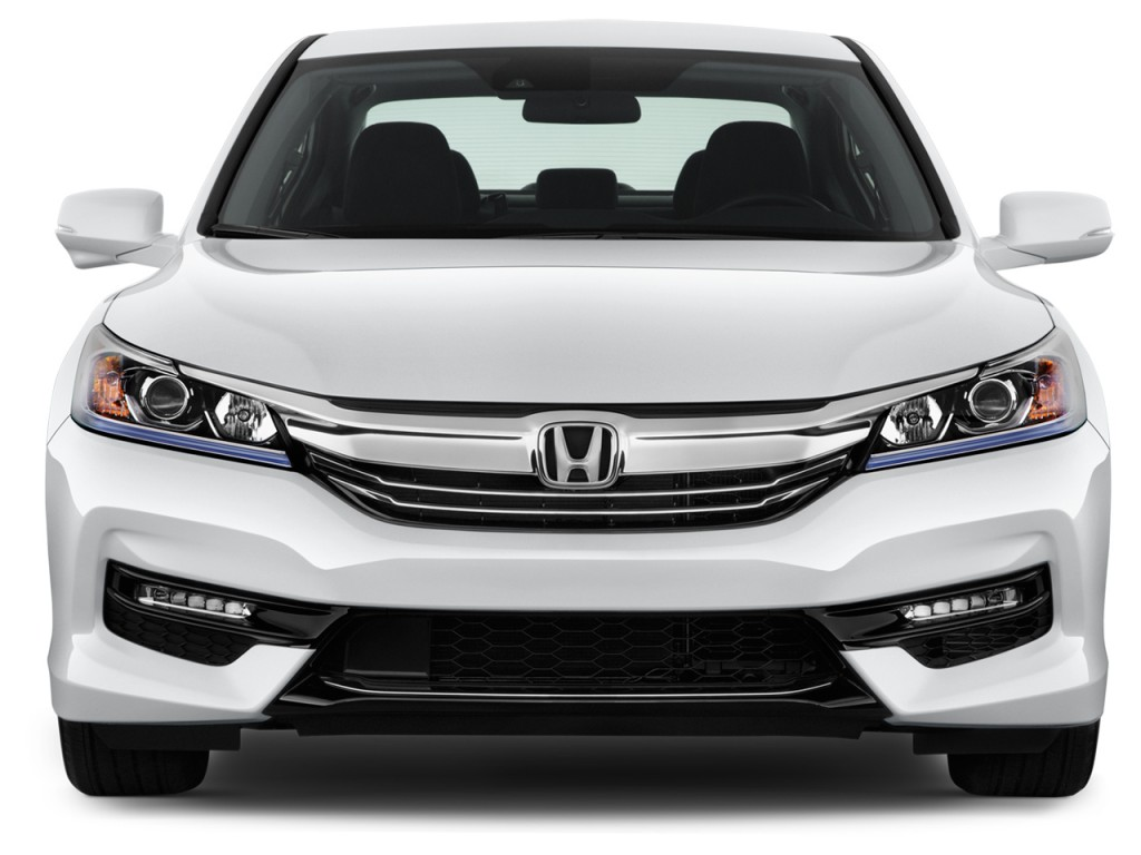 Honda Civic Coupe For Sale >> Image: 2017 Honda Accord Hybrid Sedan Front Exterior View, size: 1024 x 768, type: gif, posted ...