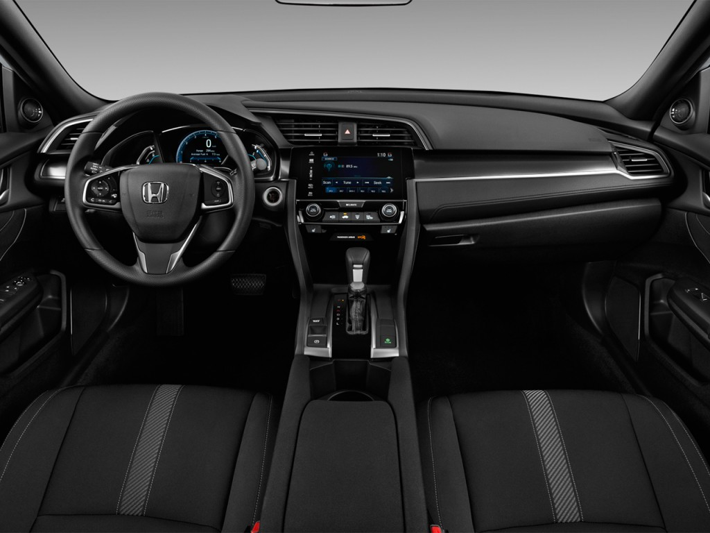 Image: 2017 Honda Civic Hatchback EX CVT Dashboard, size ...