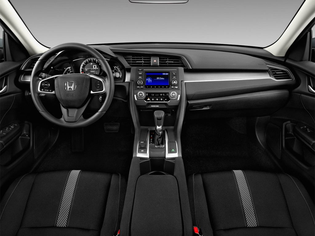 2013 Honda Accord Sport For Sale >> Image: 2017 Honda Civic LX CVT Dashboard, size: 1024 x 768, type: gif, posted on: April 20, 2017 ...