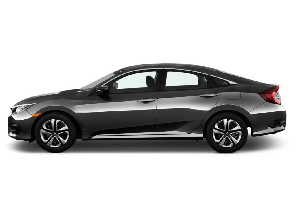 Image 2017 Honda Civic Lx Cvt Side Exterior View Size