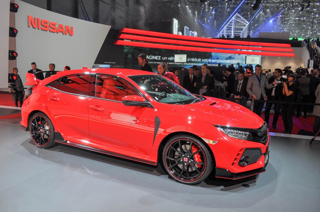 image 2017 honda civic type r 2017 geneva auto show. Black Bedroom Furniture Sets. Home Design Ideas