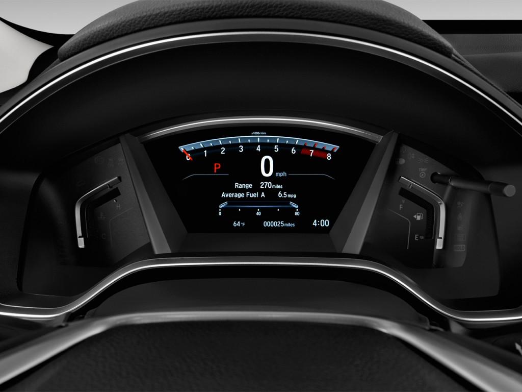 Image 2017 Honda Cr V Ex L 2wd Instrument Cluster Size