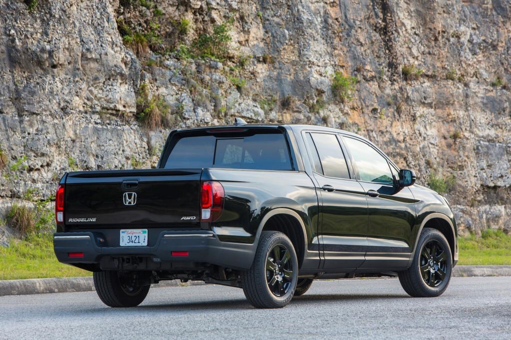 Image: 2017 Honda Ridgeline Black Edition, size: 1024 x 682, type: gif ...