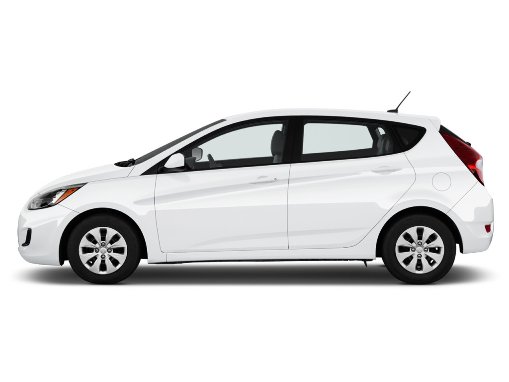 Image: 2017 Hyundai Accent SE Hatchback Automatic Side ...