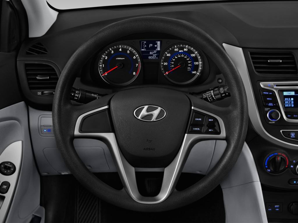 Image: 2017 Hyundai Accent SE Hatchback Automatic Steering ...