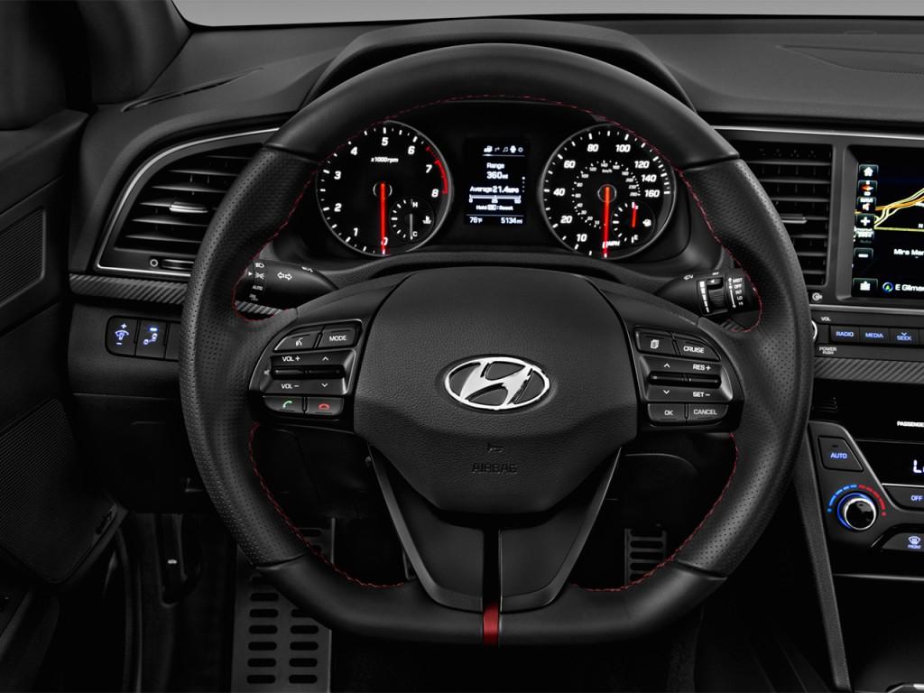 Image 2017 Hyundai Elantra Sport 1 6t Manual Ulsan Steering Wheel Size 1024 X 768 Type
