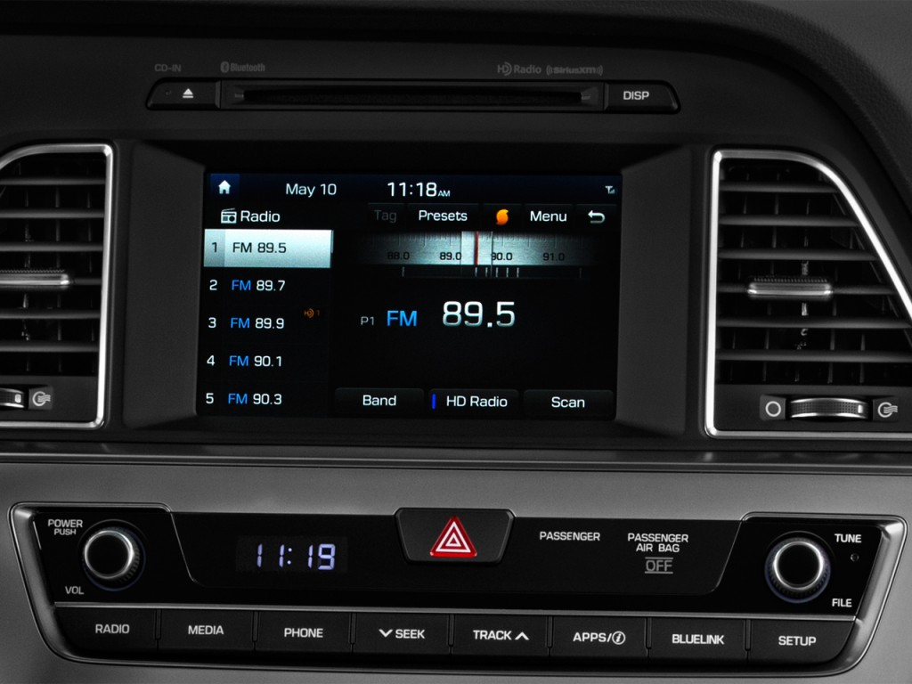 Image 2017 Hyundai Sonata Eco 1 6l Audio System Size
