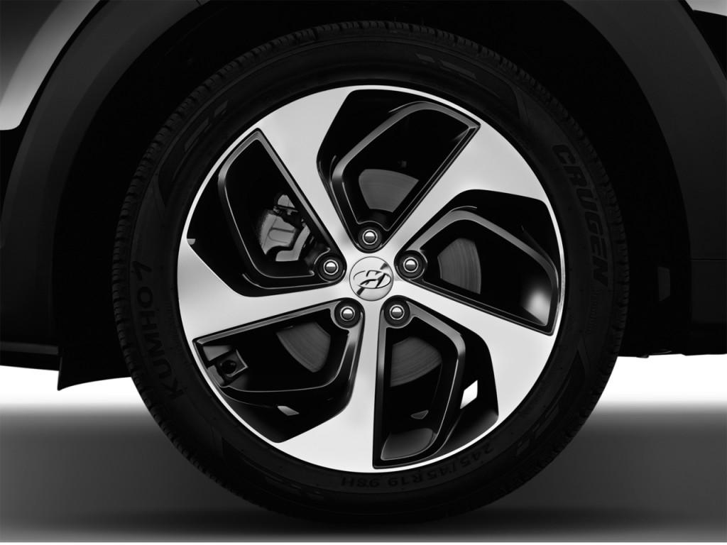 Image 2017 Hyundai Tucson Limited Fwd Wheel Cap Size
