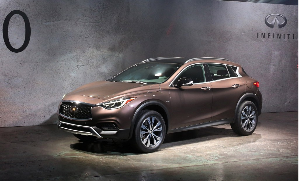 Image 2017 infiniti qx30 2015 los angeles auto show for South motors infiniti service