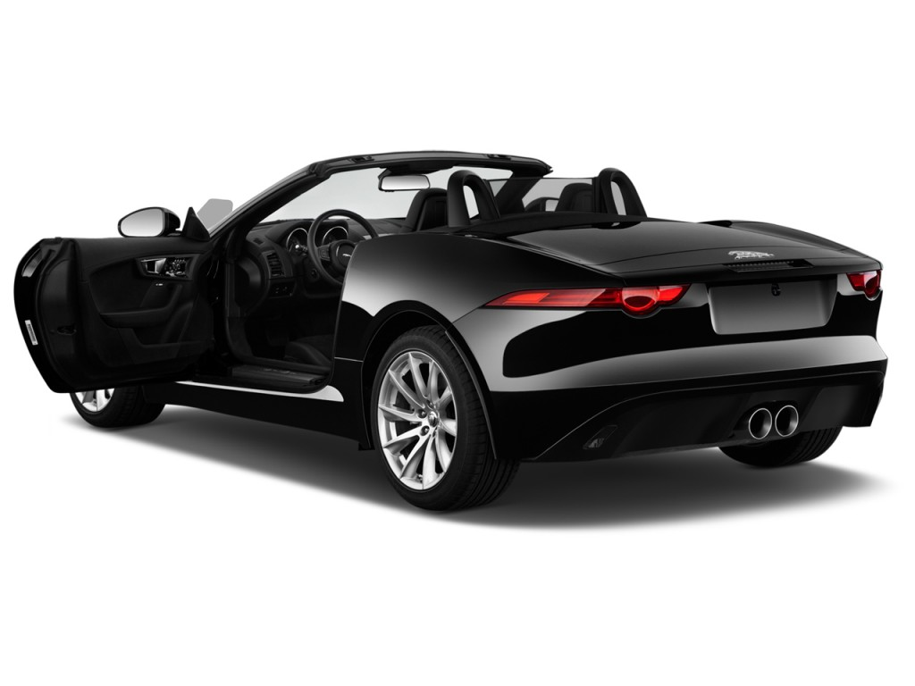 Image 2017 Jaguar F Type Convertible Automatic Open Doors