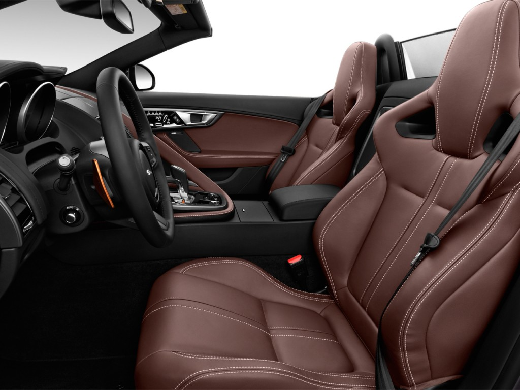 Image 2017 Jaguar F Type Convertible Manual S Front Seats