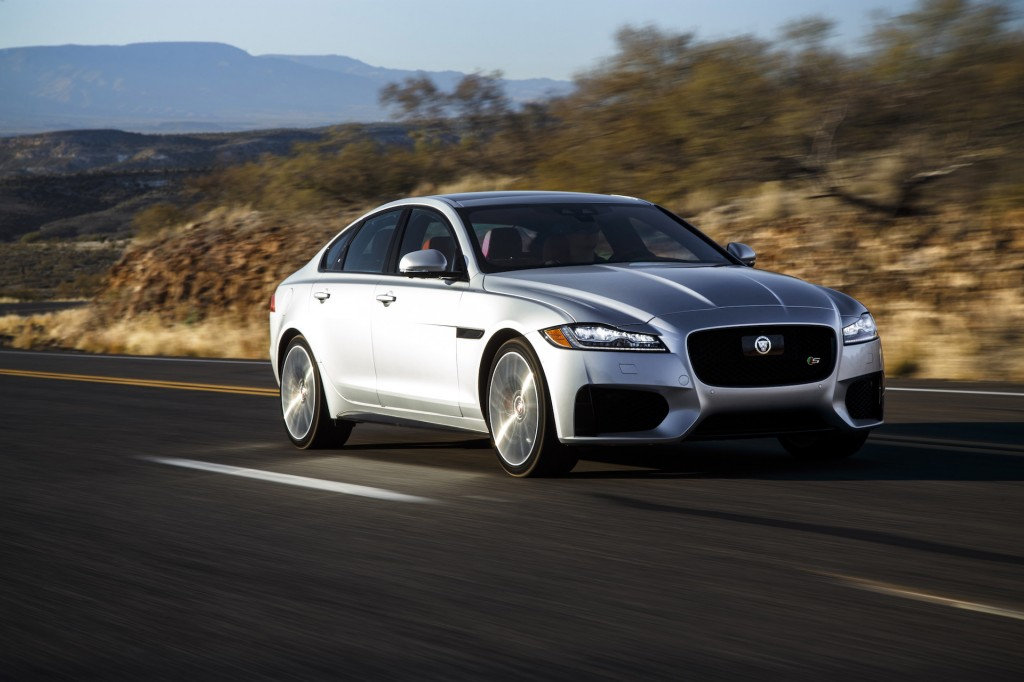 2018 jaguar xf review ratings specs prices and photos the car connection. Black Bedroom Furniture Sets. Home Design Ideas