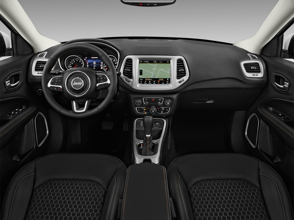 Image 2017 Jeep Compass Latitude Fwd Ltd Avail Dashboard Size 1024 X 768 Type Gif Posted