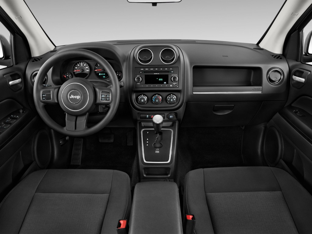 Image 2017 Jeep Compass Sport Fwd Dashboard Size 1024 X