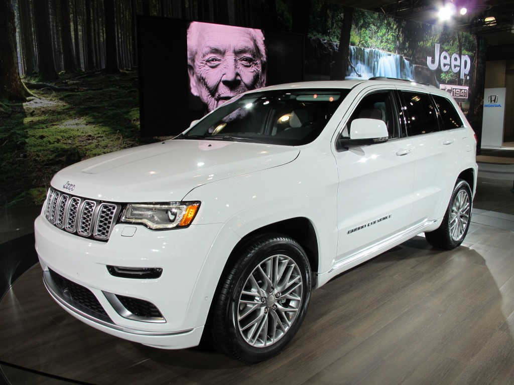 Image 2017 Jeep Grand Cherokee Summit Size 1024 X 768
