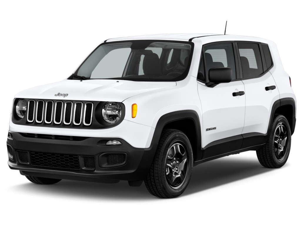 Image 2017 Jeep Renegade Sport Fwd Angular Front Exterior