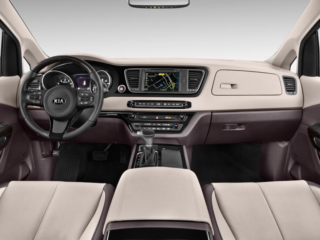 Image 2017 Kia Sedona L Fwd Dashboard Size 1024 X 768