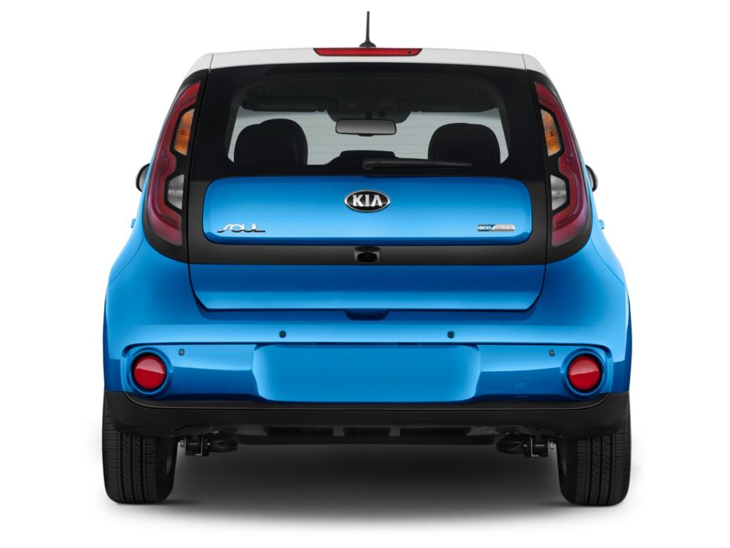 Image 2017 Kia Soul Ev Ev Auto Rear Exterior View Size