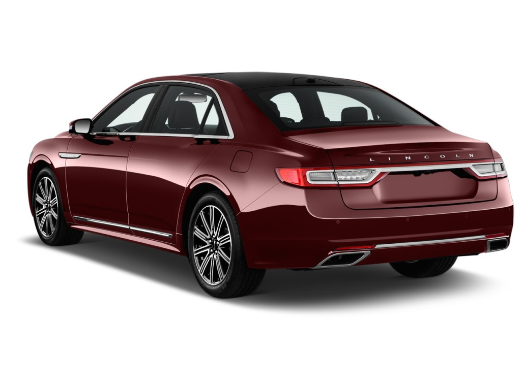 2016 Lincoln Town Car >> Image: 2017 Lincoln Continental Reserve FWD Angular Rear Exterior View, size: 1024 x 768, type ...