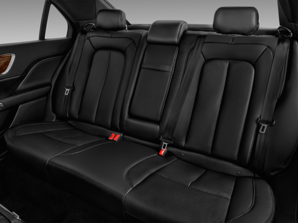 image 2017 lincoln continental reserve fwd rear seats. Black Bedroom Furniture Sets. Home Design Ideas