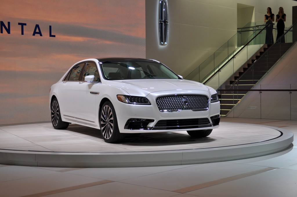 image 2017 lincoln continental 2016 detroit auto show. Black Bedroom Furniture Sets. Home Design Ideas