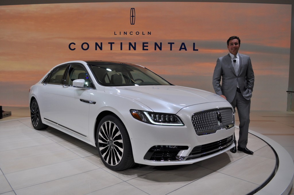 image 2017 lincoln continental 2016 detroit auto show. Black Bedroom Furniture Sets. Home Design Ideas