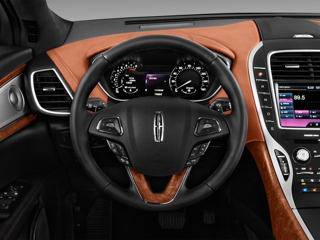 Image: 2017 Lincoln MKX Black Label FWD Steering Wheel ...