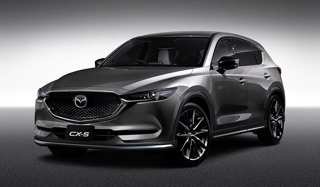 Mazda 3 2017 Custom >> Mazda CX-5, MX-5 Miata RF get customized cool for 2017 Tokyo Auto Salon