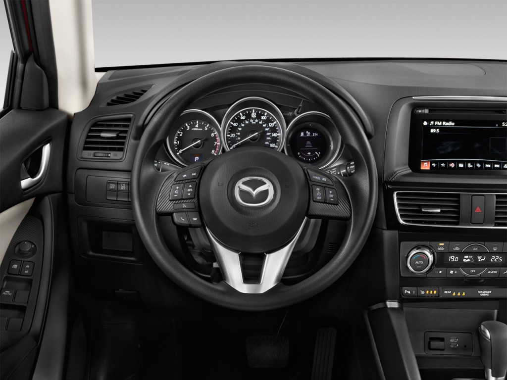 Image: 2017 Mazda CX-5 Sport FWD Steering Wheel, size ...