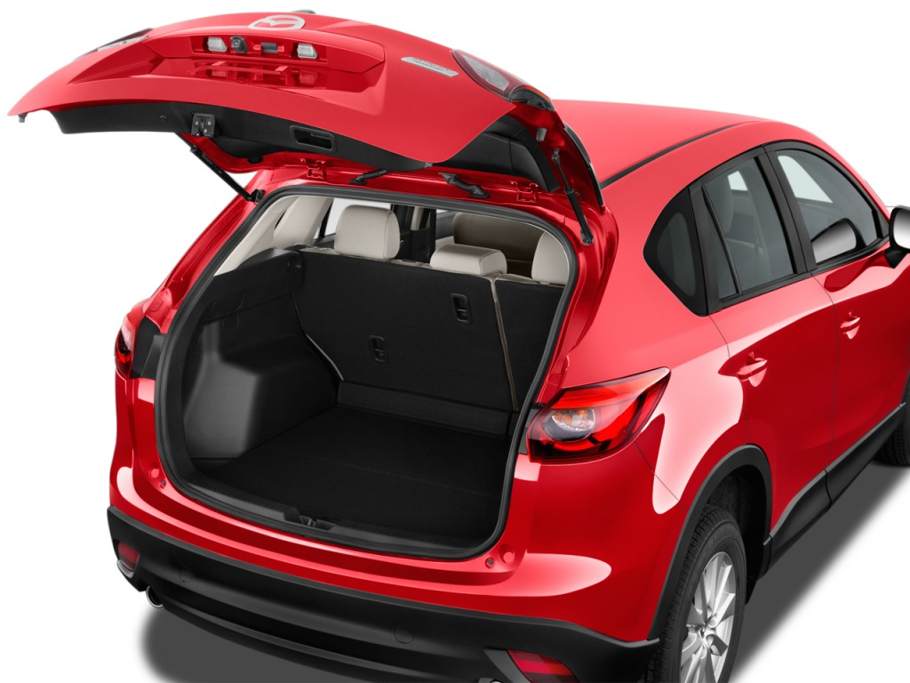 Image: 2017 Mazda CX-5 Sport FWD Trunk, size: 1024 x 768 ...